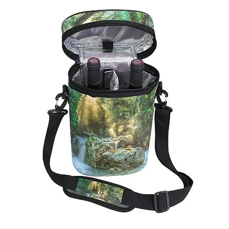 Amazon.com | MONTOJ Wine Cooler Bag Insulated Wine Carrier ...