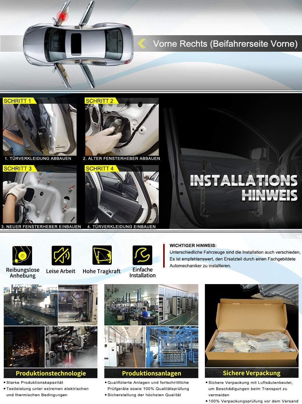 L/ève-vitre avec moteur avant droit pour Primastar Vivaro Trafic II X83 J7 E7 F7 JL EL FL 2001-2014 7700311821