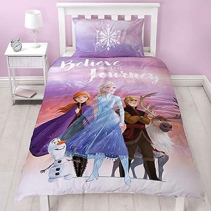 Copripiumino Frozen Disney.Frozen 2 Disney Single Polycotton Duvet Cover Officially