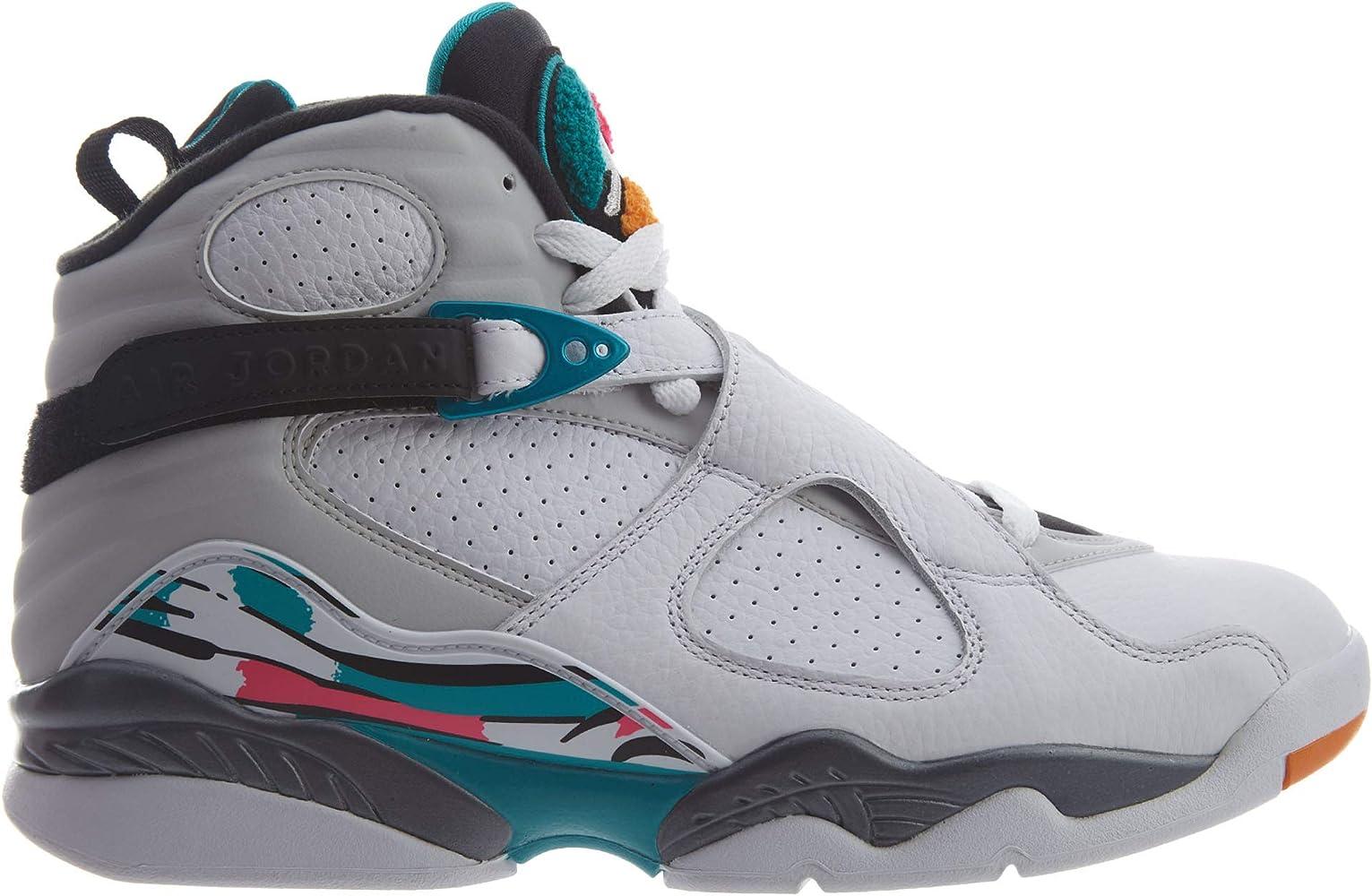 0c80d1a6aa9 Amazon.com | Nike AIR Jordan 8 Retro South Beach 305381-113 (11.5 ...