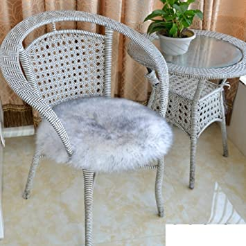 OPHGTJTNGNGMJG Volltonfarbe Sitz Polsterung,Runde Sitzkissen Verdicken Esszimmer  Stuhl Kissen Fashion Kissen Anti Rutsch