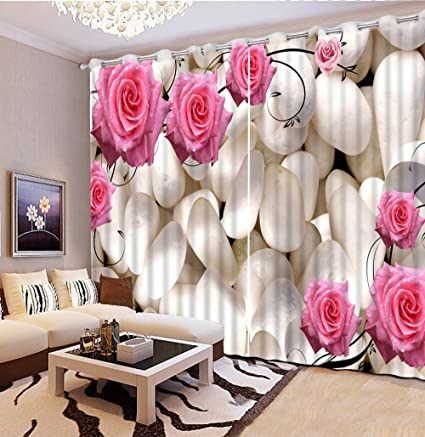 Amazon.com: Sproud 3D Curtains European Style Beautiful ...