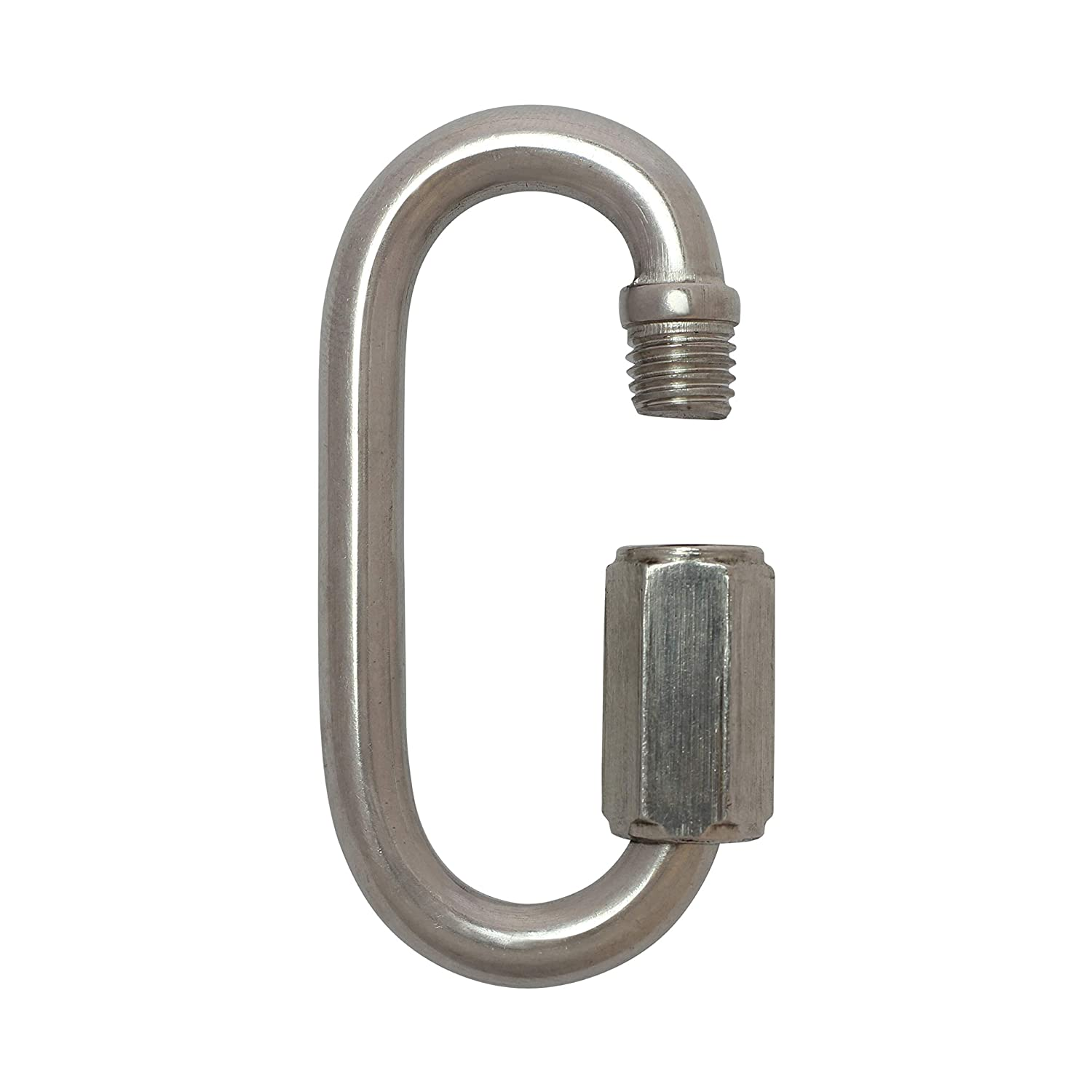 3 Gauge RCH Hardware QL-SS03-60 Stainless Steel Quick Link 5 Pack Stainless Steel