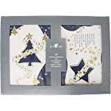 Susy Card 11227121 testi-Biglietto di auguri di Natale, confezione da 20 pezzi