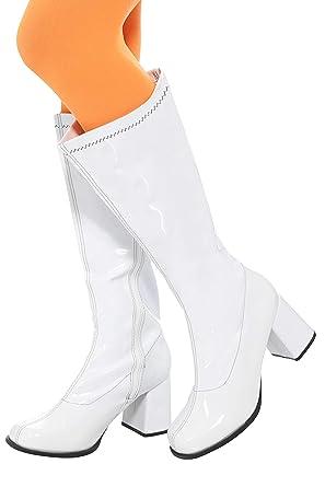 417db4a3164 Smiffys 48061S 60 s Ladies Gogo Boot (UK 4 US ...