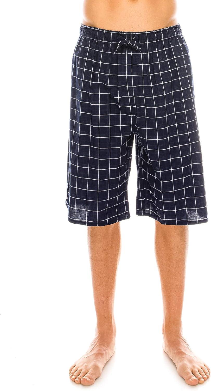 Mens Lounge Bed Pants Pyjama Pajama Bottoms Checked Trousers Cotton Rich Tartan