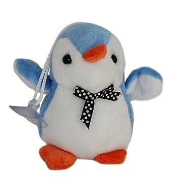 Amazon Com Lucore 4 Baby Penguin Plush Stuffed Animal Toy Keychain