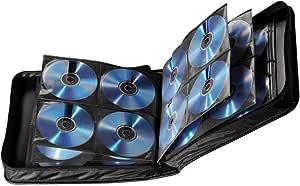 Hama - Estuche porta CD para 208 CD/DVD/Blu-rays, portafolios para guardar CD, negro: Amazon.es: Informática