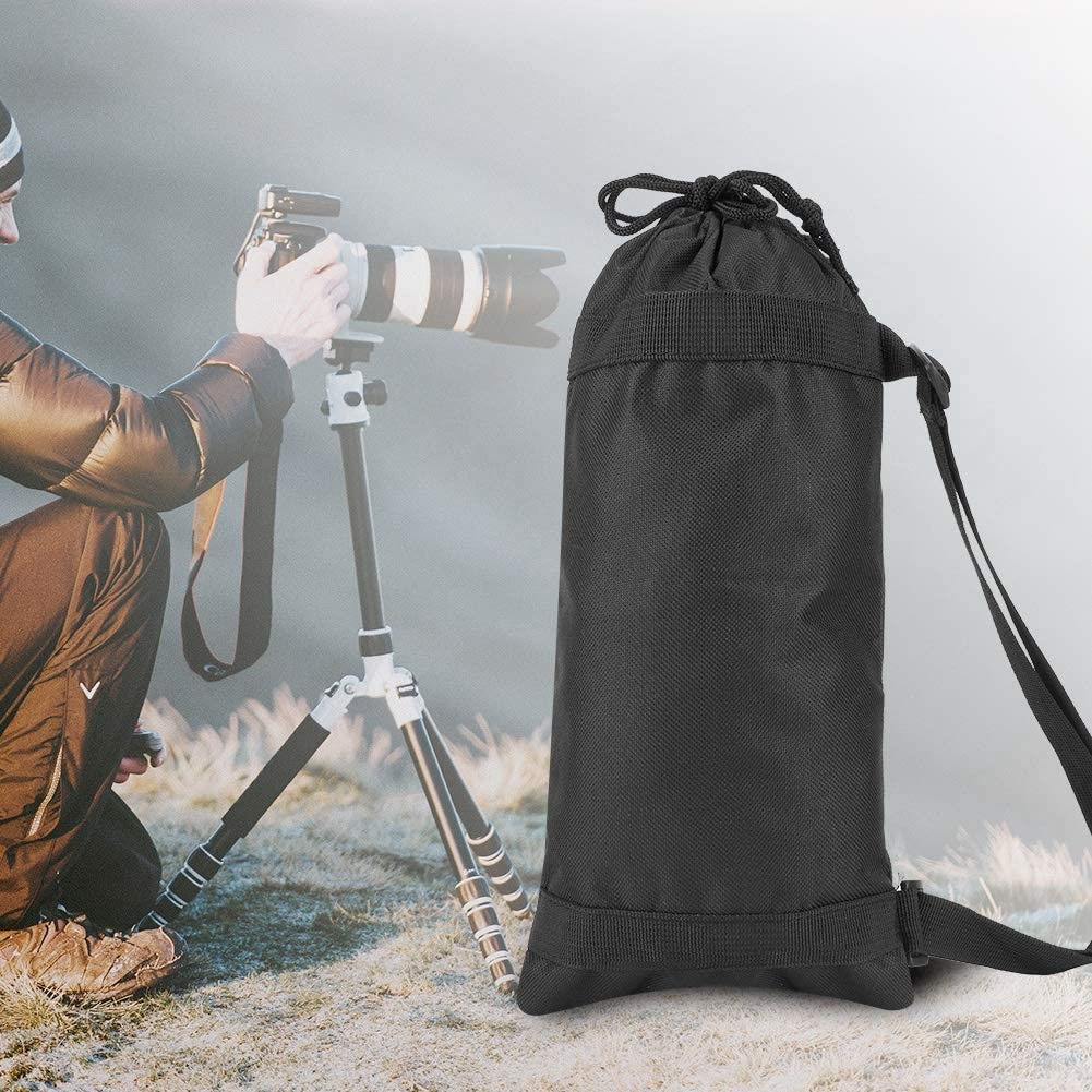 7517cm//29.536.69inch Xinwoer Lightweight Black Portable Folding Outdoor Strap Camera Tripod Photography Carry Bag