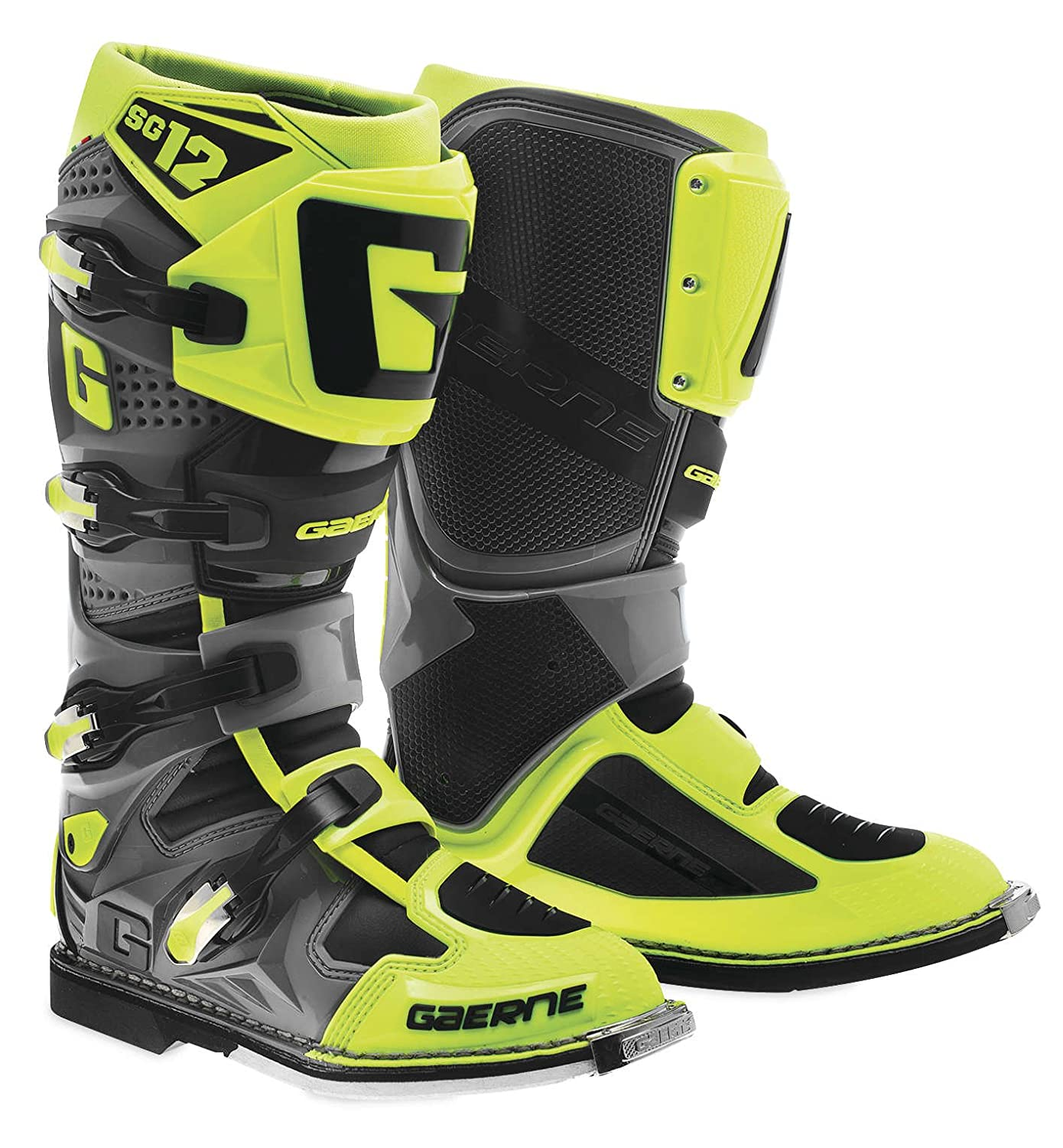 Gaerne 7Sg12 Boot Neon Yel Blk 7 2174-049-07 New