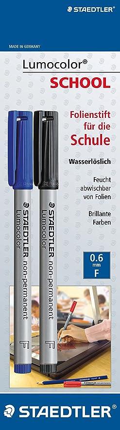 Staedtler Lumocolor - Rotulador de punta fina para pizarra ...