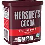 Hershey's Special Dark Chocolate Cocoa, 8-Ounce Can (Pack of 4)