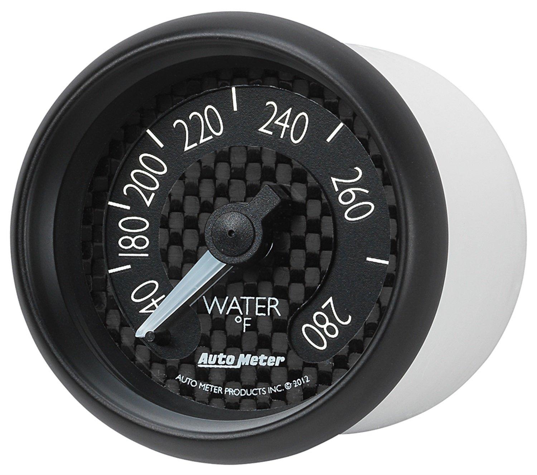 Auto Meter 8031 GT Series Mechanical Water Temperature Gauge by Auto Meter (Image #1)
