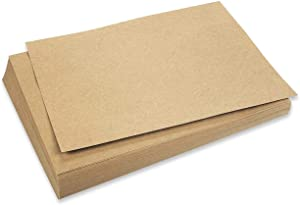Kraft Stationary Paper for Crafting, Letter Size (8.5 x 11 in, Brown, 96 Sheets)