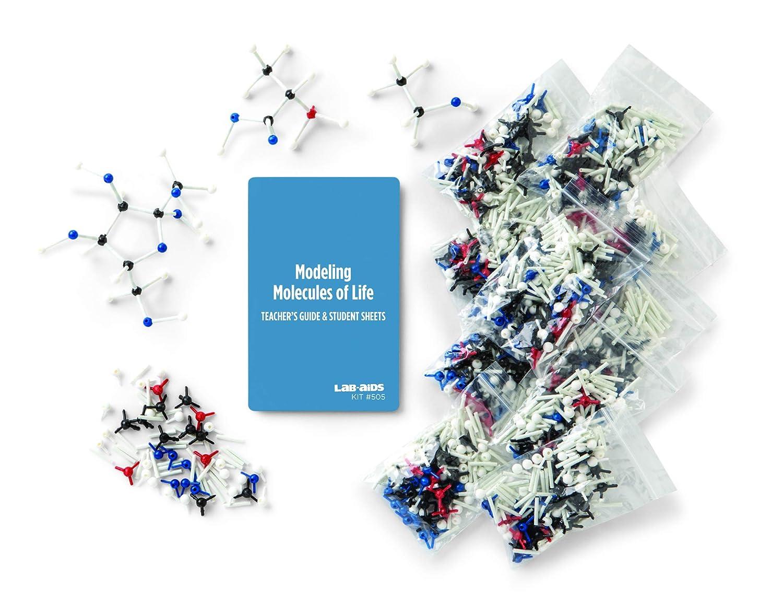 Lab-Aids - Kit de modelado de moléculas de la vida 505 ...