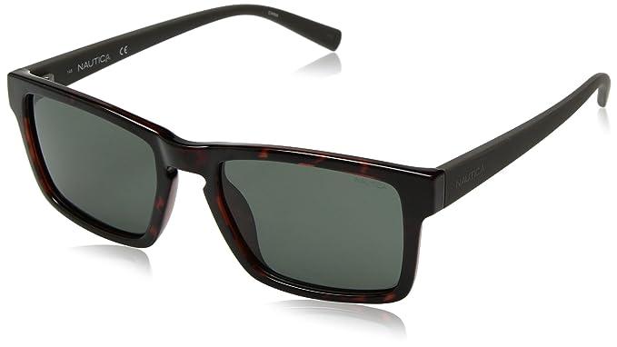 Nautica N3627Sp 206 56, Gafas de Sol para Hombre, Dark Tortoise