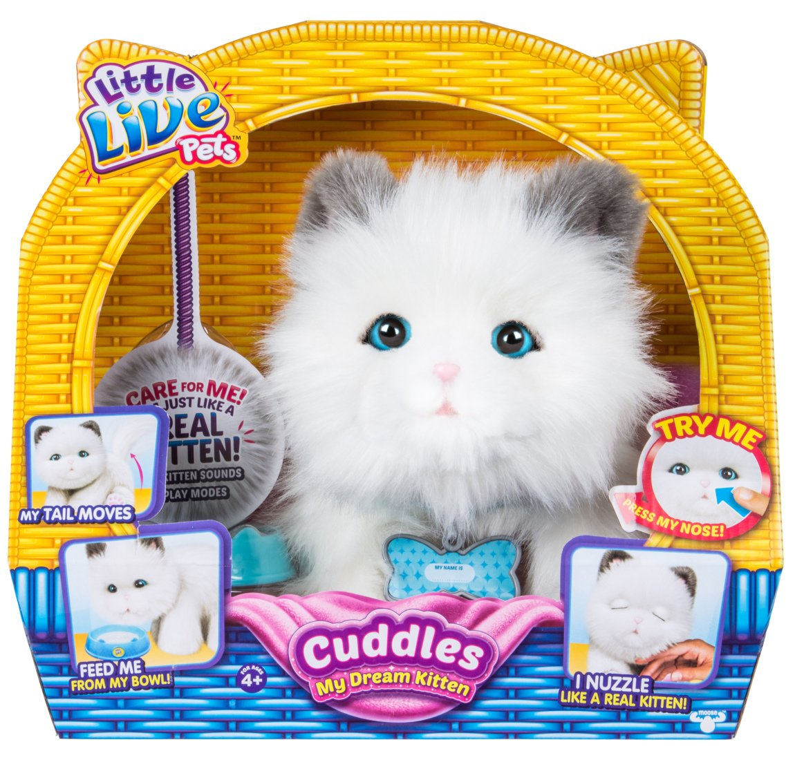 Amazon Little Live Pets Cuddles My Dream Kitten Toys & Games