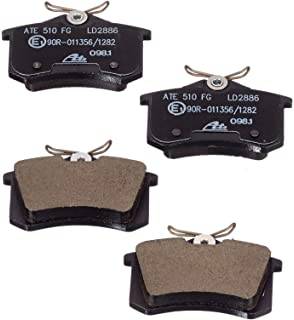 4x ATE Bremsbelagsatz Beläge hinten für Ford Galaxy VW Sharan //// 13.0460-2819.2