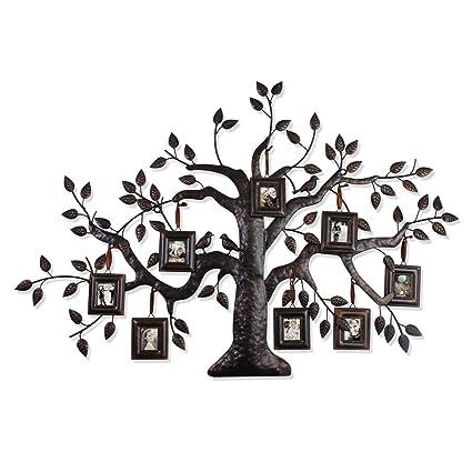 Amazon.com - ELEGAN Brown Black Decorative FAMILY TREE PHOTO PICTURE ...