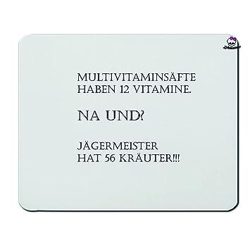 Mousepads Rechteckig 3 Mm Multivitaminsafte Na Und Lustig Spruche