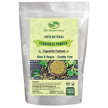 100 Grams Fenugreek/Methi Powder - 100% Pure & Natural Herbs, Multi-Purpose  Use, Food Spices,