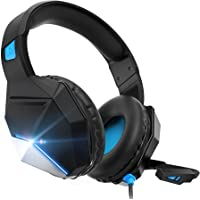 Gaming Headset, Gaming Headphones with Microphone,for PS4,PS5, PC, Xbox One,Switch -Headset with Microphone,Noise…