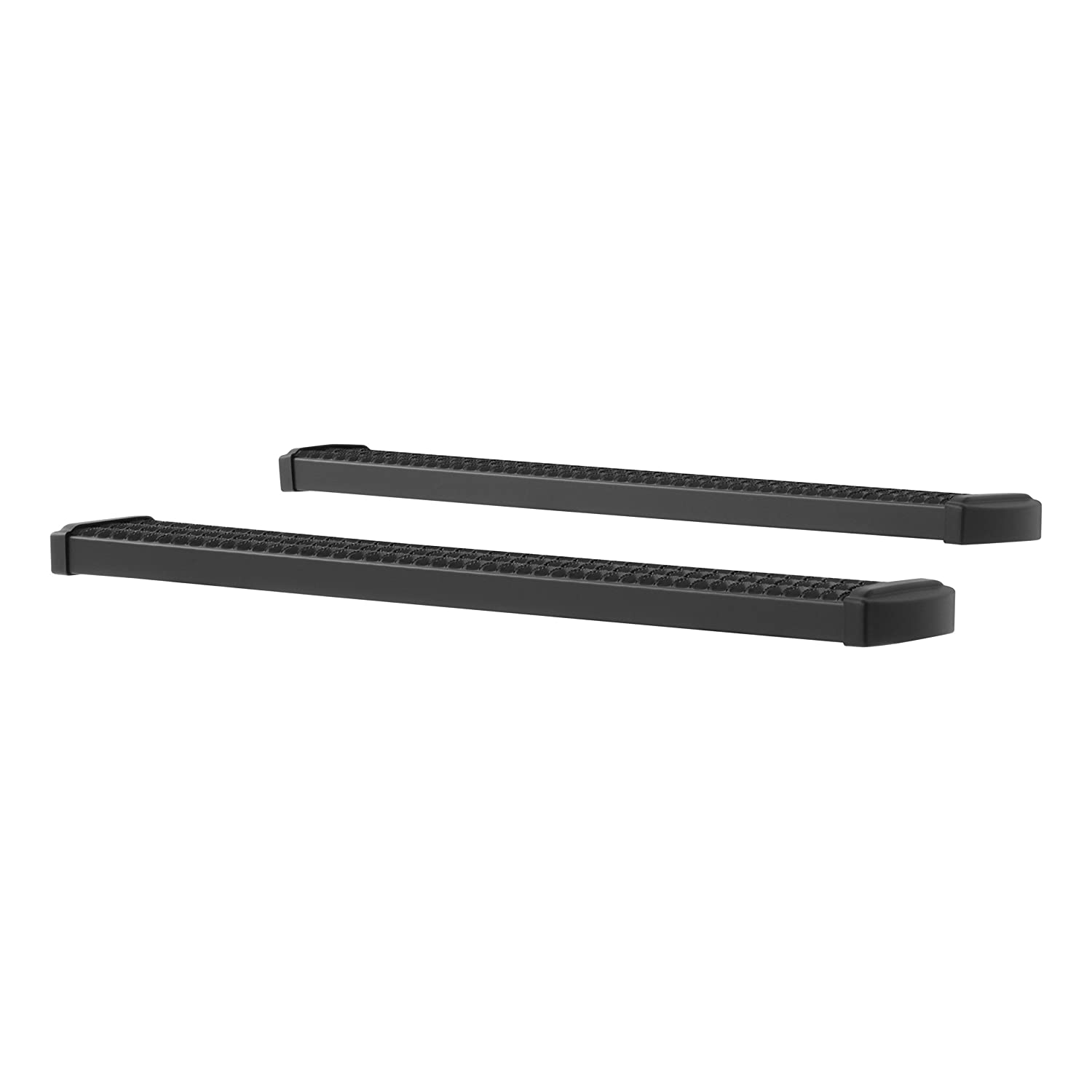 F-550 Super Duty F-350 LUVERNE 415054-409921 Grip Step Black Aluminum 54-Inch Truck Running Boards for Select Ford F-250 F-450