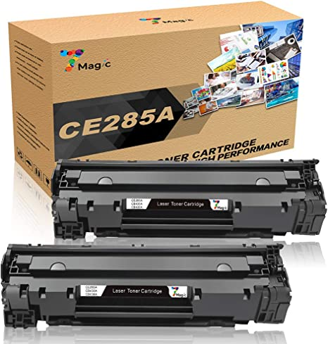 7Magic CE285A 85A Compatible con HP 85A CE285A Cartucho de Tóner ...