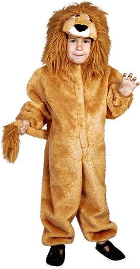 Disfraz de León para niños de 3 a 4 años: Amazon.es: Juguetes y juegos