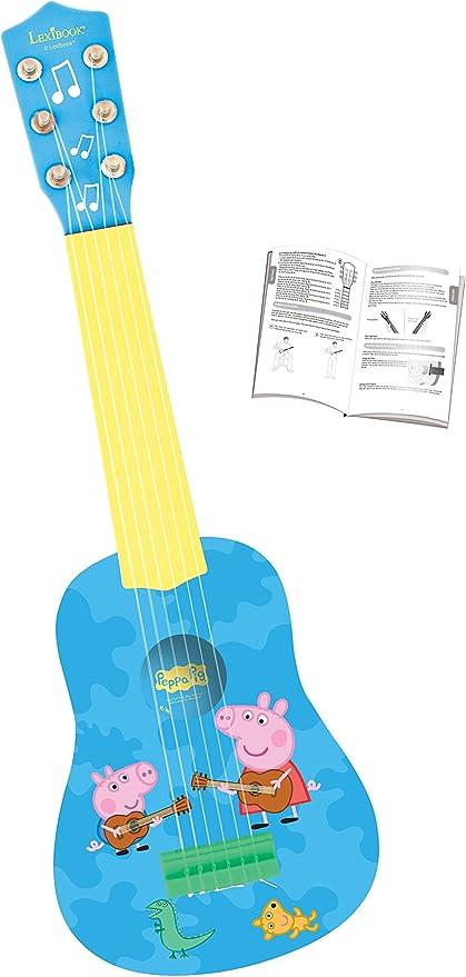 Peppa Pig K200PP Mi Primera Guitarra, 6 Cuerdas, Instrumento ...