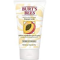 Burts Bees Peach and Willow Bark Deep Pore Scrub for Women - 4 oz, 276.69 grams