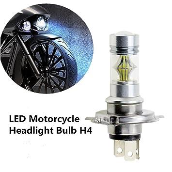 FEZZ 1500LM Bombilla LED de Faro Motocicletas Luz Delantera Hi Lo Beam, H4 HS1 9003