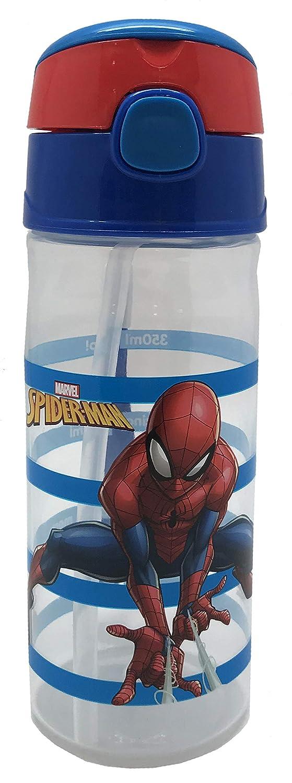 Polipropileno, Silicona, 500 ml Marvel Spiderman Botella de Agua