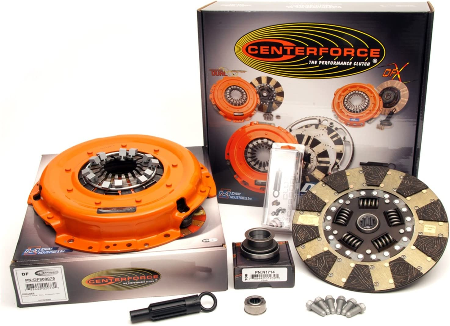Centerforce KDF007514 Dual Friction Full Clutch Kit