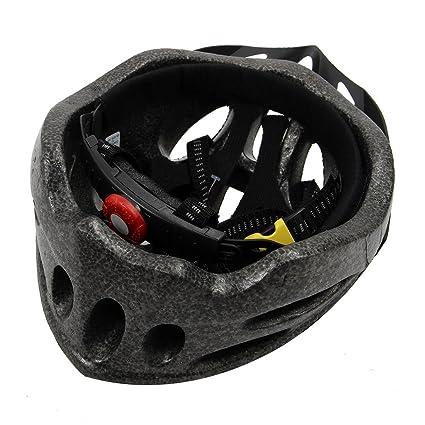 Casco - JSZ casco de bicicleta para los adultos hermoso casco de carbono con visera-rosado: Amazon.es: Deportes y aire libre
