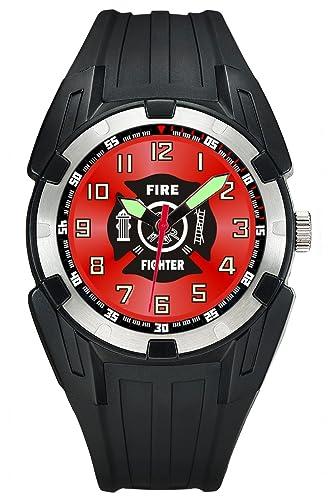 Aqua Force Reloj de Combate analógico para Bomberos acuáticos Insignia (50 m, Resistente al