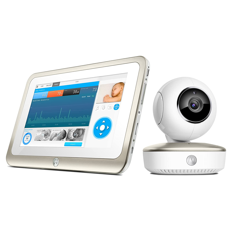 Motorola Smart Nursery 7 Dual Mode Baby Monitor