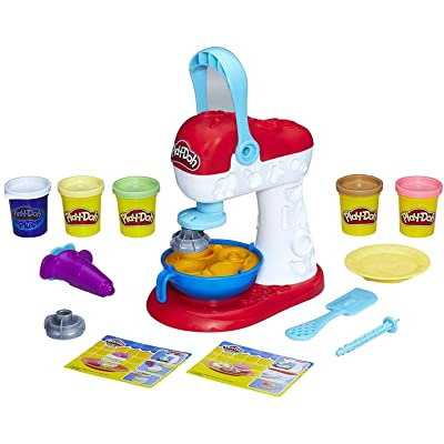 Play-Doh Kitchen Creations Spinning Treats Mixer: Toys & Games