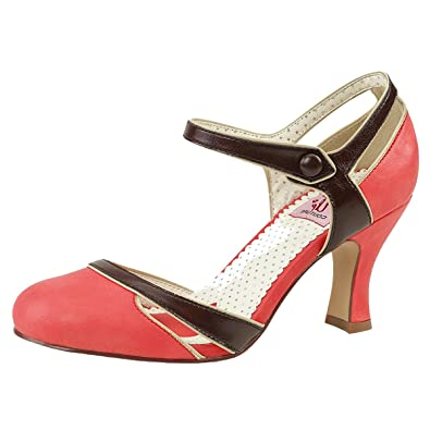 922c32161b75cc Heels-Perfect Pin Up Pump Damen Orange (Orange) - vereins-rundschau.de