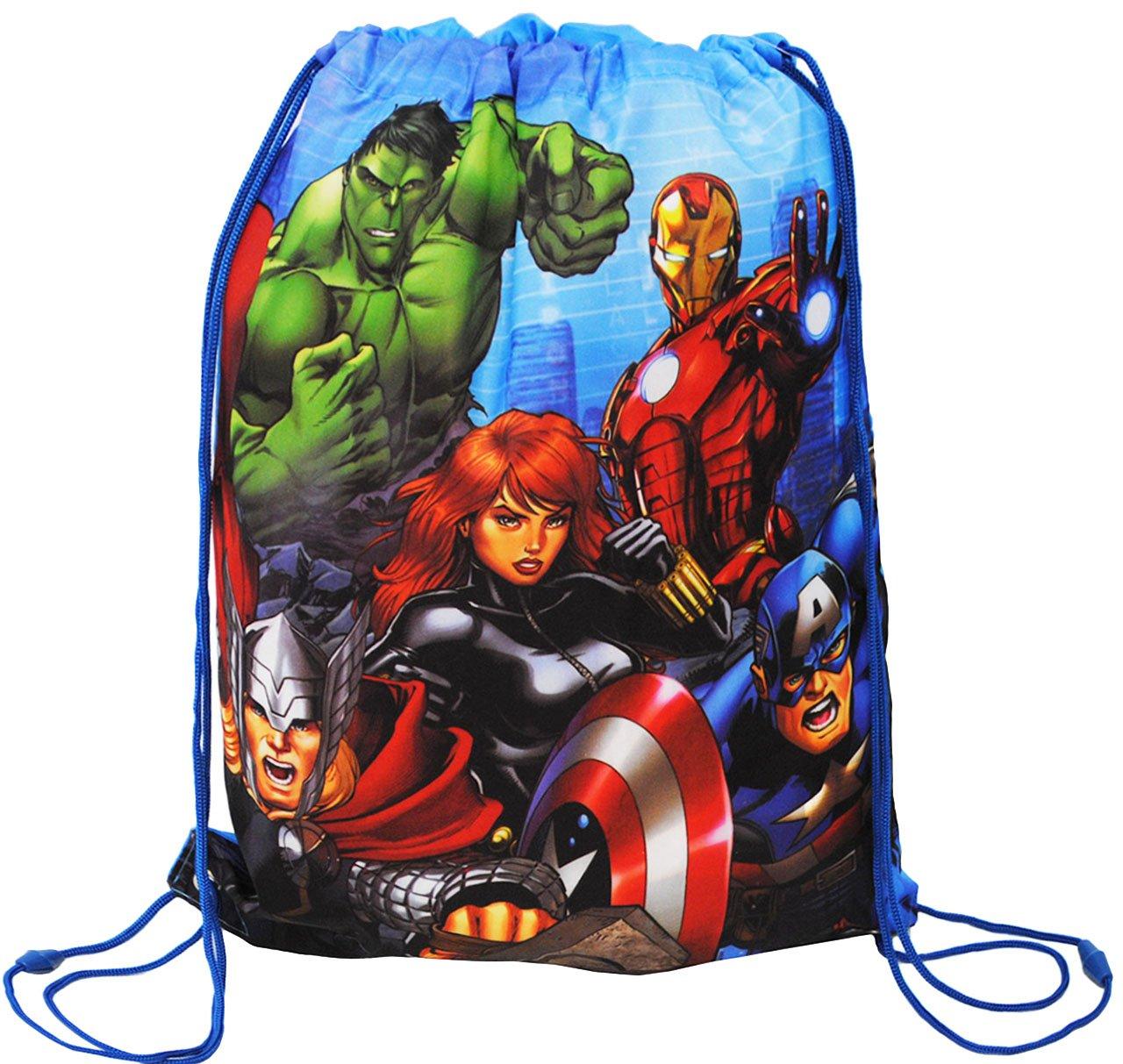 alles-meine.de GmbH Tasche // Rucksack Beutel Turnbeutel Schuhbeutel Avengers // Thor /& Captain America Sportbeutel wasserfest // wasserabweisend /& abwi.. incl Name