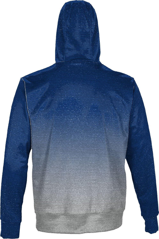 Ombre School Spirit Sweatshirt Georgia State University Mens Pullover Hoodie
