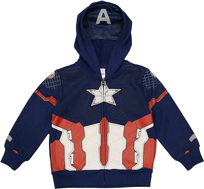 Amazon.com: Marvel Captain America - Sudadera con capucha ...