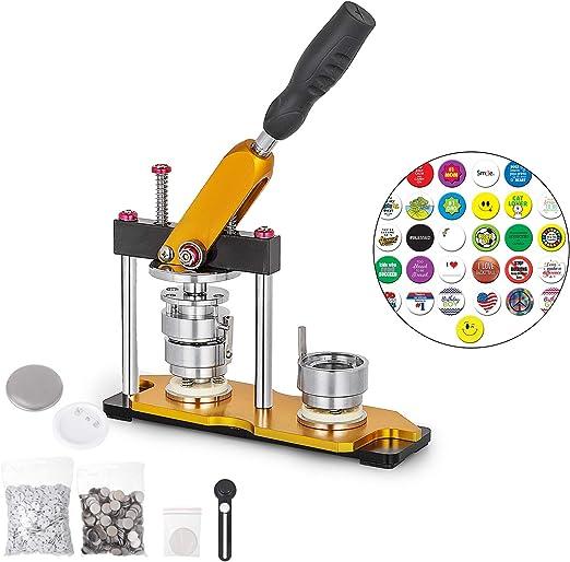 Anhon Máquina para Fabricar Botones de 32 mm Máquina de Creador de ...