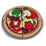 Melissa & Doug 13974 - Cibo in Feltro - Set per Pizza