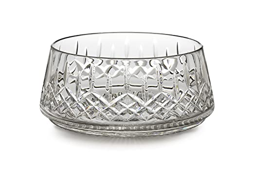 Waterford Lismore Cut Crystal Diamond Pattern 10-inch Bowl