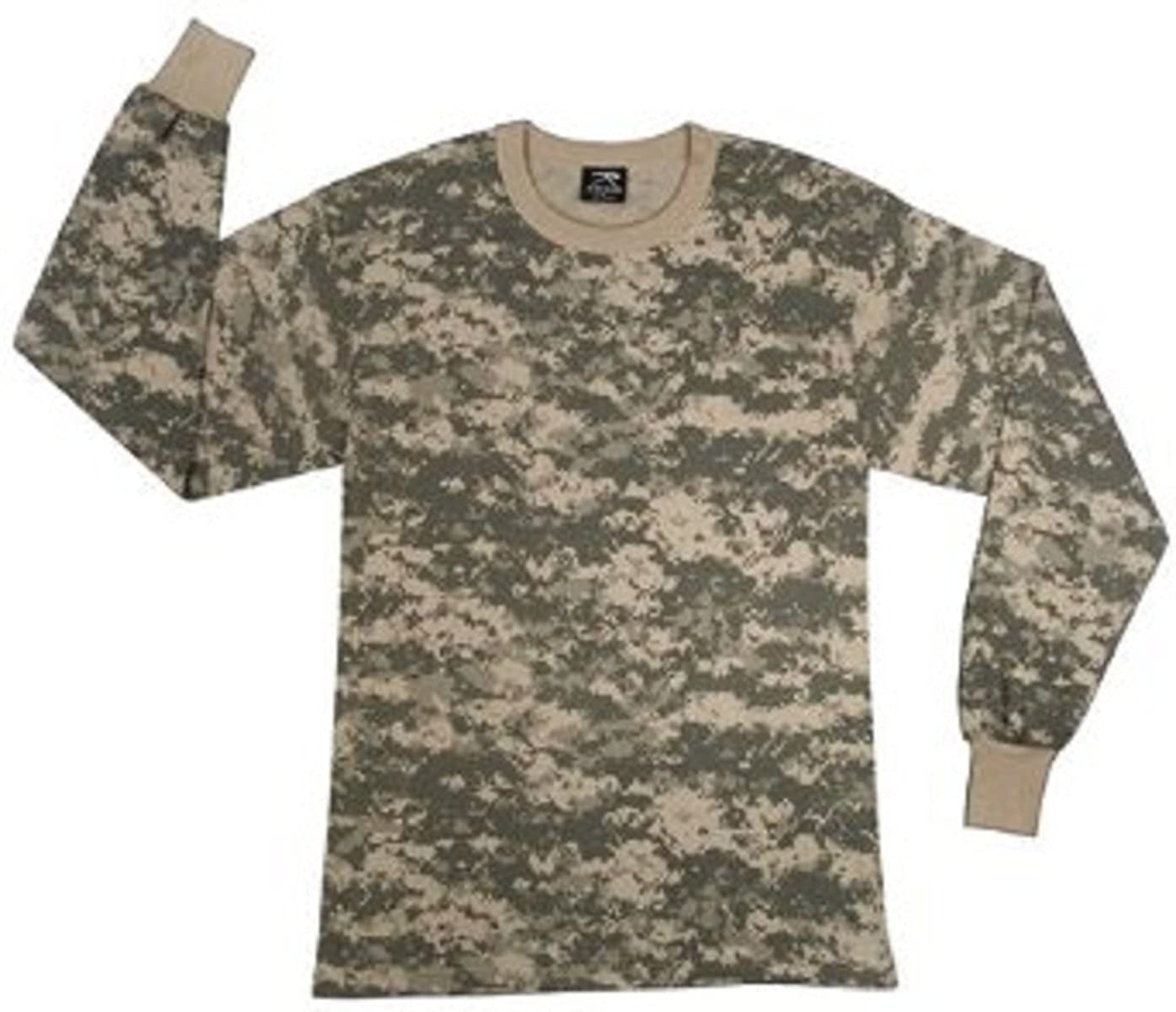 Amazon.com  Army Universe ACU Digital Camouflage Boys Long Sleeve T-Shirt  (Large)  Military Apparel Shirts  Clothing e7ed6b3875a
