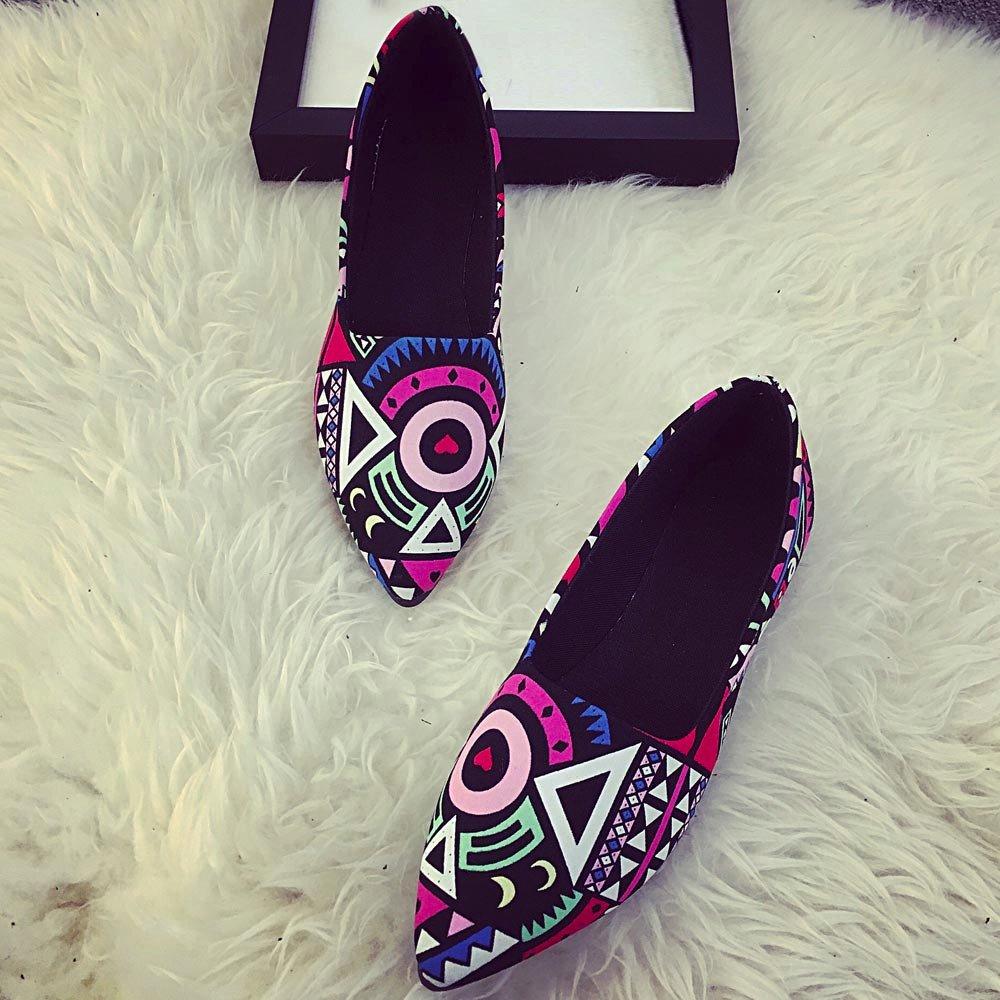 Women Loafers ? Vanvler Lady Slip On Flat Shoes Ballet Doug Shoes All Seasons by Vanvler ❤ Women Shoes (Image #7)