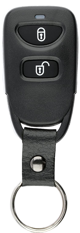 KeylessOption Keyless Entry Remote Car Key Fob Alarm for Hyundai Santa Fe Accent Kia Rio Rio5 PINHA-T038