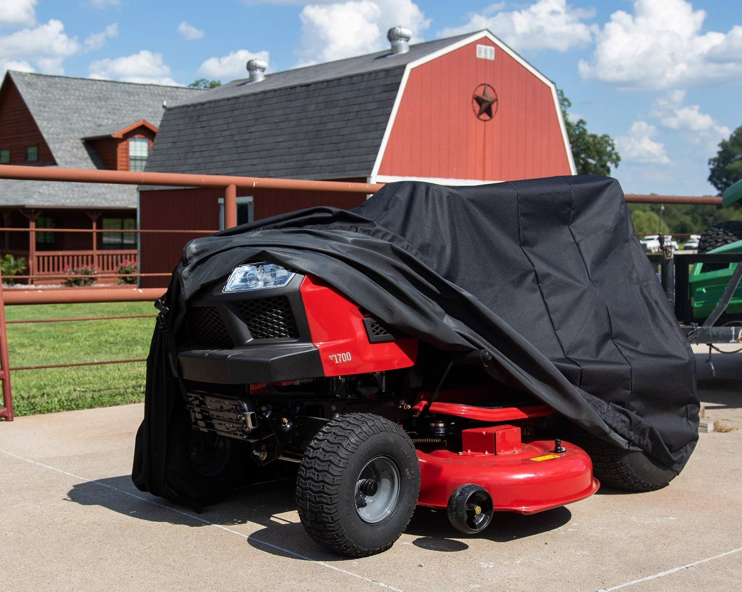 Sturdy Covers Riding Mower Defender - Durable, Weatherproof Riding Lawn Mower Cover