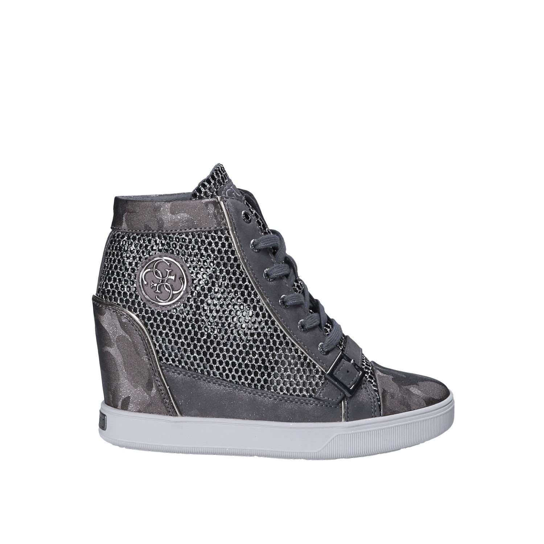 Guess Damen Footwear Active Lady Turnschuhe, Schwarz, 37 EU